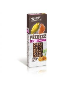 Feedeez - Sticks pour canari Alpiste Miel 85g