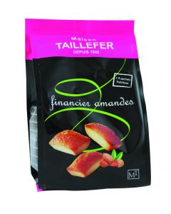 Financiers gourmands aux amandes sachet de 9 - 135g