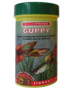 Flocons Guppy 100ml Aquaprime