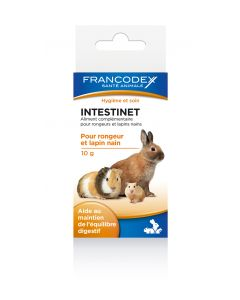 Francodex - Intestinet aliment pour rongeur et lapin nain - 10 g