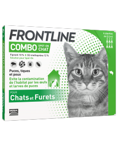 Frontline Combo chat 1 x 6 Pipettes