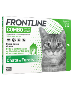 Frontline Combo Chat 3X0,5 ml