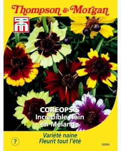 Graines de Coreopsis Incredible Dwarf Mix