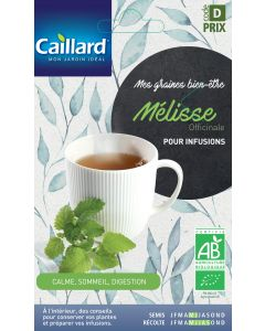 Graines de Mélisse officinale bio