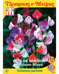 Graines de Pois De Senteur Heirloom Mixed
