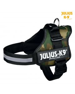 Harnais Power Julius-K9®, 2/L–XL: 71–96 cm/50 mm, camouflage