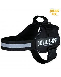 Harnais Power Julius-K9®, 2/L–XL: 71–96 cm/50 mm, noir