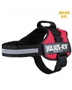 Harnais Power Julius-K9®, 2/L–XL: 71–96 cm/50 mm, rouge