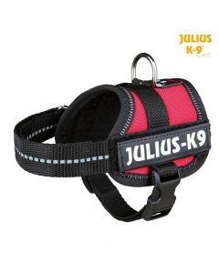 Harnais Power Julius-K9®, Baby 1/XS: 30–40 cm/18 mm, rouge