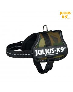 Harnais Power Julius-K9®, Baby 2/XS–S: 33–45 cm/18 mm, camouflage