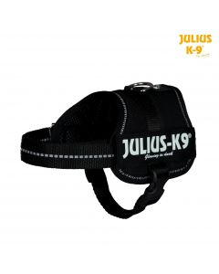 Harnais Power Julius-K9®, Baby 2/XS–S: 33–45 cm/18 mm, noir