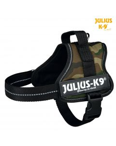 Harnais Power Julius-K9®, Mini/M: 51–67 cm/28 mm, camouflage