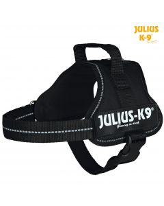 Harnais Power Julius-K9®, Mini/M: 51–67 cm/28 mm, noir