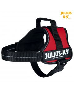 Harnais Power Julius-K9®, Mini/M: 51–67 cm/28 mm, rouge