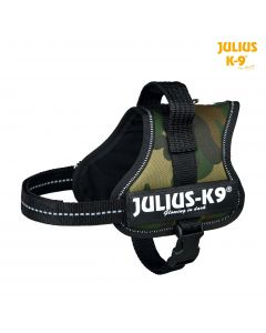 Harnais Power Julius-K9®, Mini-Mini/S: 40–53 cm/22 mm, camouflage