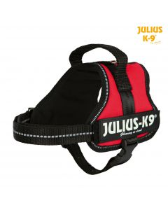 Harnais Power Julius-K9®, Mini-Mini/S: 40–53 cm/22 mm, rouge