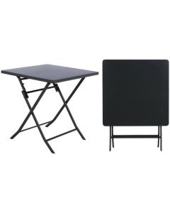 Hesperide - Table Greensboro carrée graphite - L70 x l70 x H71 cm