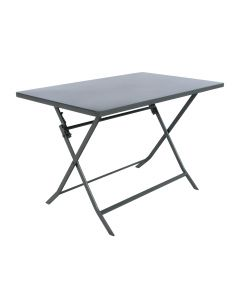 Hesperide - Table Greensboro graphite - L.110 x l.70 x H.71 cm