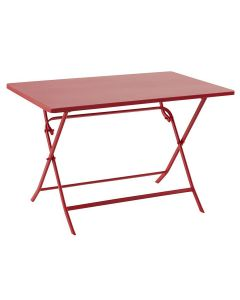 Hesperide - Table Greensboro groseille - L.110 x l.70 x H.71 cm