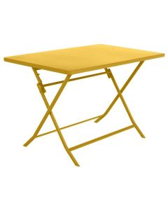 Hesperide - Table Greensboro moutarde - L.110 x l.70 x H.71 cm