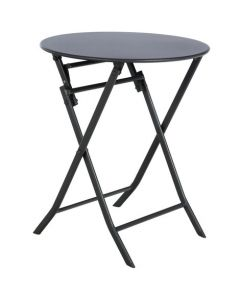 Hesperide - Table Greensboro ronde graphite - Ø60 x H.71 cm