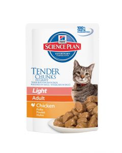 Hill's Science Plan Feline Adult Light Poulet Sachet Repas 85gr