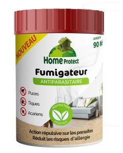 Home Protect - Fumigateur bougie antiparasitaire 90 m3