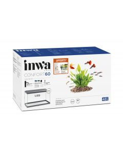 Inwa - Kit promo Aquarium Confort 60 gris