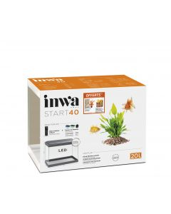 Inwa - Kit promo Aquarium Start 40 Pack Pur LED blanc