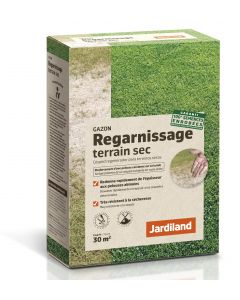 Jardiland - Gazon regarnissage terrain sec 1 kg