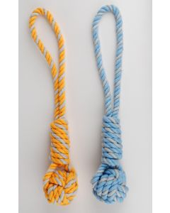 Jouet chien - Traction rope ball xs petit chien 27 cm