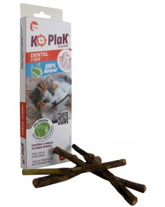 K.O Plak - Sticks dentaire pour chat x5