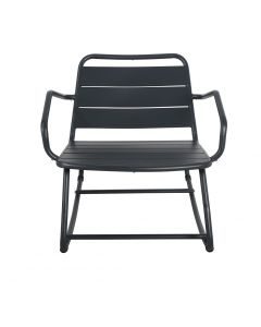 L'Estivalier - Rocking chair anthracite - L.80 x l.66 x H.65 cm