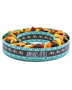 Les vergers d'Escoute - Couronne de fruits secs 760 g