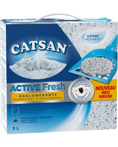 Litière Catsan active fresh 5L
