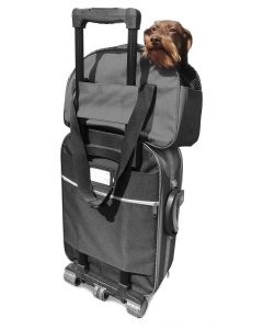 Martin Sellier - Sac Bowling Croisette Gris Taille 48 cm