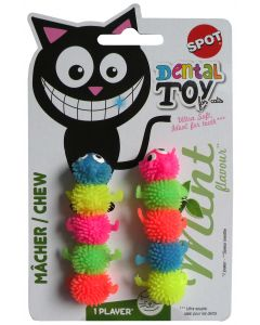 Mint Chew Worm Cat Toy Spot