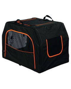 Trixie - Niche mobile extend, extensible, M, noir/orange