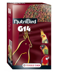 Nutribird - Aliment G14 Tropical pour grandes perruches 1 kg