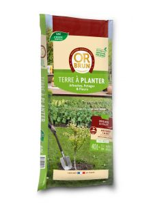 Or Brun - Terre à planter - 40L