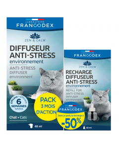 Pack diffuseur + recharge anti-stress