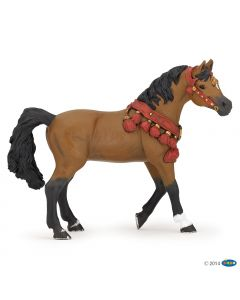 Papo - 51547 - Figurine cheval Arabe en tenue de parade