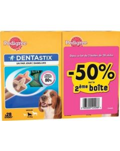 Pedigree Dentastix moyen chien 720 g x 2