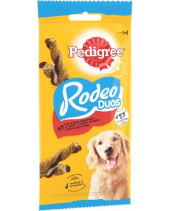 Pedigree - Rodeo Duos Bœuf et Fromage 123 g