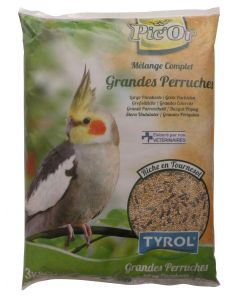 Tyrol - Pic'Or mélange pour Grandes Perruches - 3kg