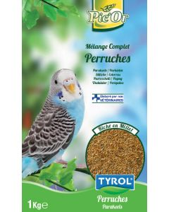 Tyrol - Pic'Or mélange pour Perruches - 1kg