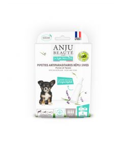 Pipette Insectifuge *4 Chiot / Petit Chien < 5kg Ecosoin Bio