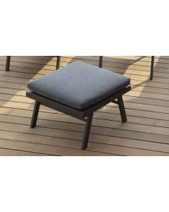 Pol - Table basse pouf anthracite L.70 x l.70 x H.45 cm