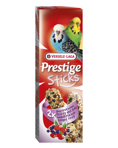 Prestige Sticks Perruches Fruits des Bois 2x30 gr