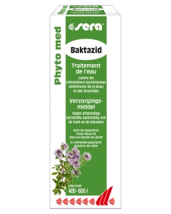Sera - Conditionneur d'eau Phyto Med Baktazid 30 ml